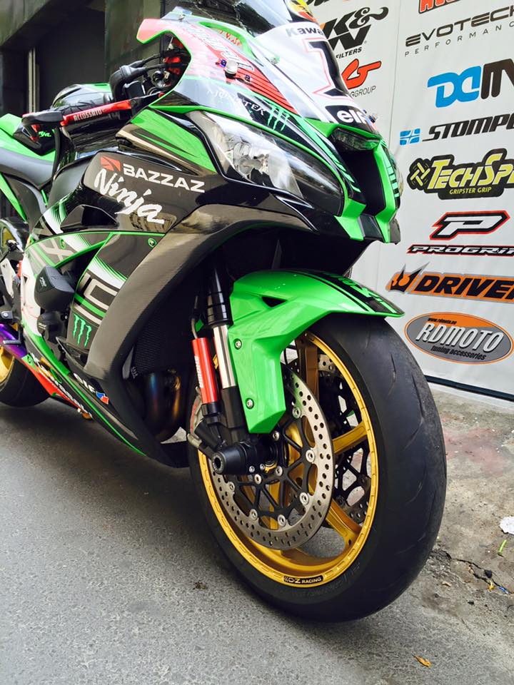 Zx10r 2016 lên mâm oz racing khủng tại việt nam