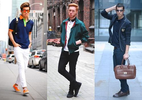Áo polo - trang phục kinh điển dành cho đàn ông