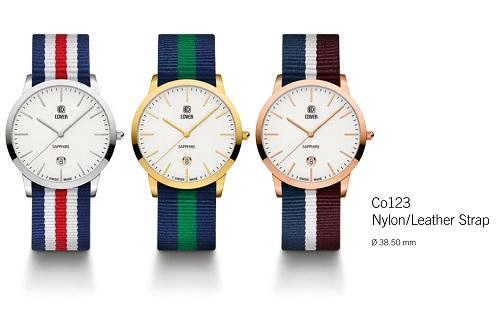 Bộ sưu tập mới của đồng hồ cover switzerland