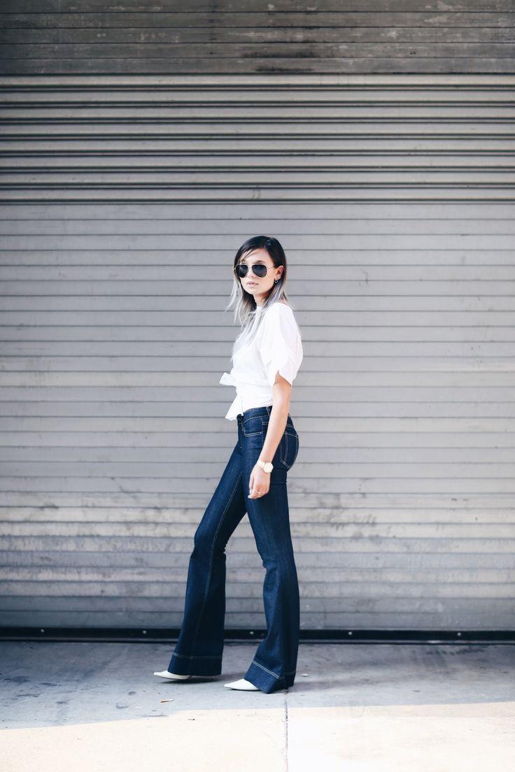 Những cách mix chiếc quần jeans mốt nhất hè 2017