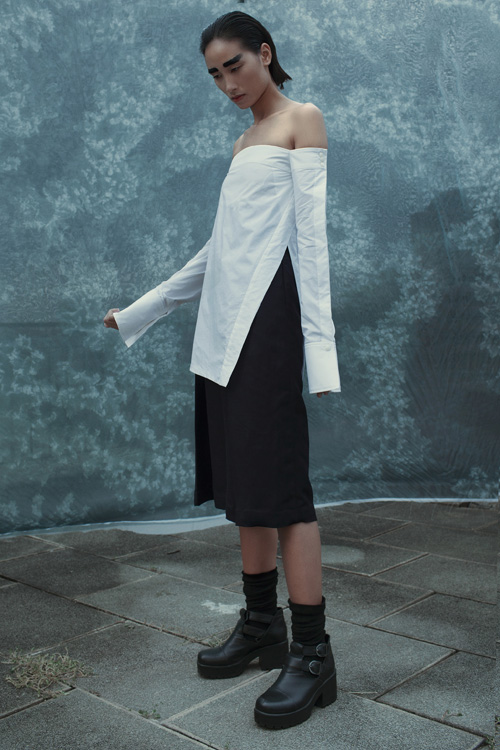 Những kiểu áo sơ mi trắng ngắm là muốn mua của trang khiếu