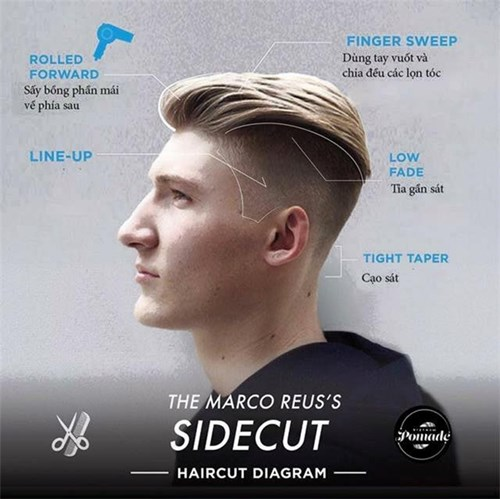 Tuyệt chiêu để có được một mái tóc undercut siêu sành điệu