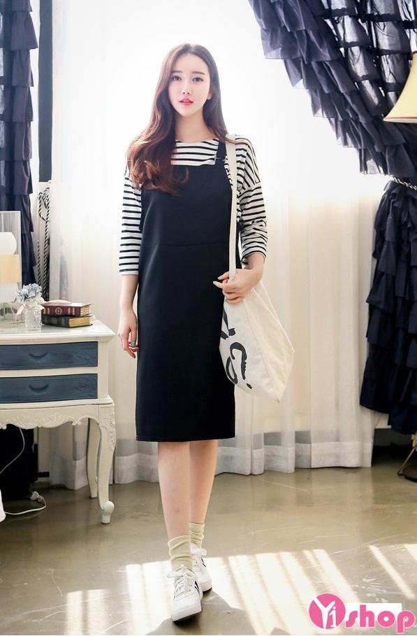 Dọn tủ nào:Váy yếm Hàn Quốc, áo len Nhật Bản, toàn hàng ...
