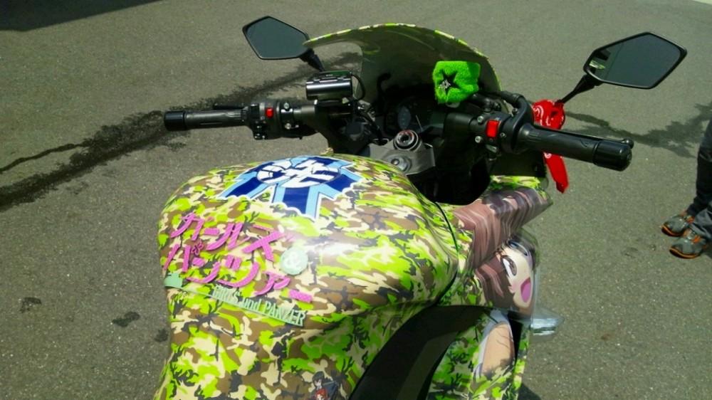 Bộ sưu tập những chiếc xe mô tô pkl độ độc đáo với phong cách hoạt hình