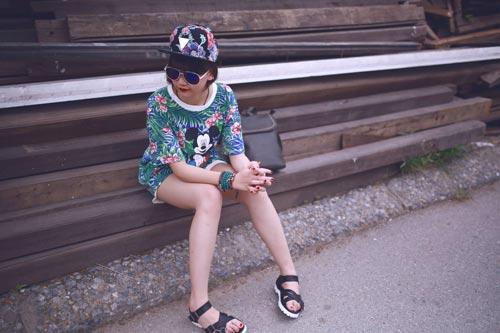 Mùa hè cá tính của các cô gái hà thành