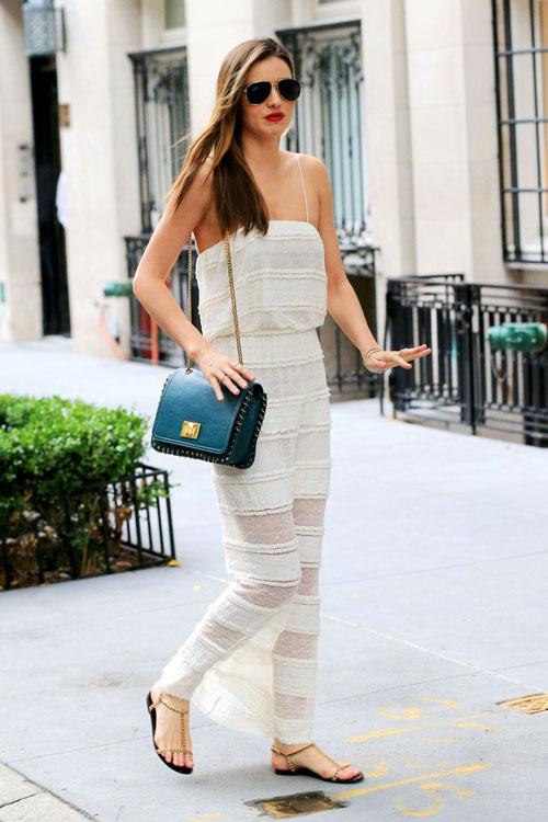 Ngắm những chiếc váy hè ngọt lịm từ miranda kerr