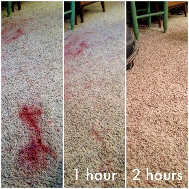 Mẹo vặt tẩy vết son trên thảm vết cháy bàn bếp