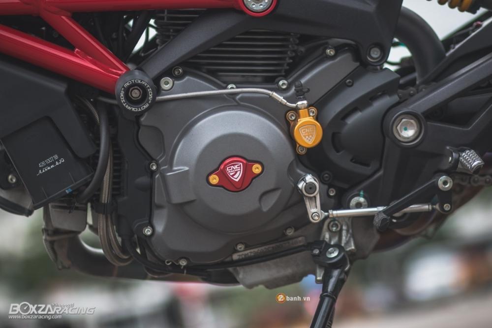 Ngắm ducati monster 796 s2r độ đầy hấp dẫn của biker thái