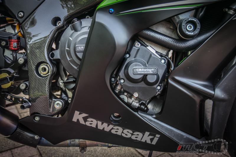 Siêu moto kawasaki ninja zx-10r độ nhiều đồ chơi hàng hiệu