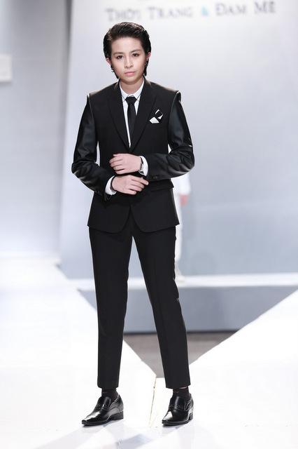 Harry lu noo phước thịnh đọ phong cách trên catwalk