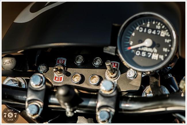 Honda cm400t đời 1981 được độ lại cực chất
