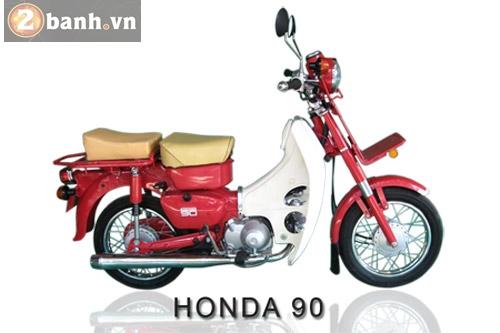 Honda md 50 - md 90 xấu xí nhưng khỏe mạnh