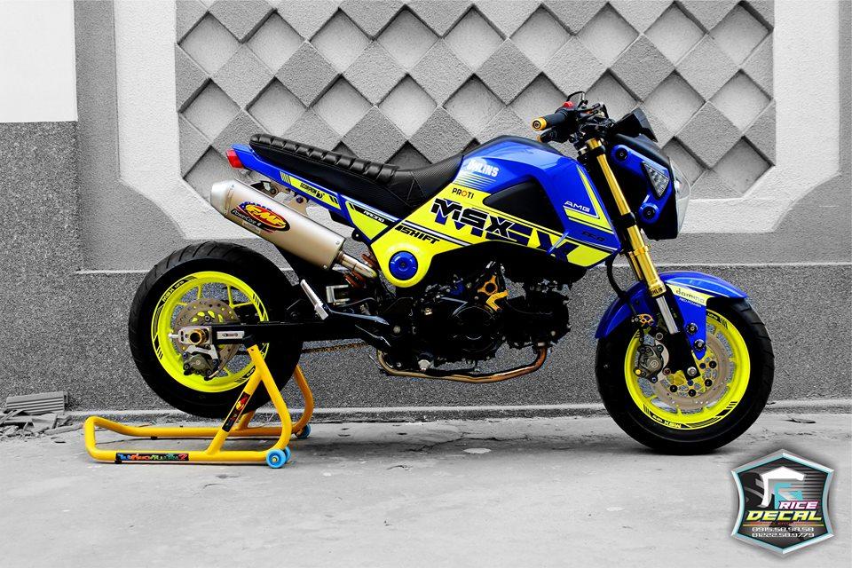 Honda msx chiếc mini bike biến thể nhiều phiên bản độ