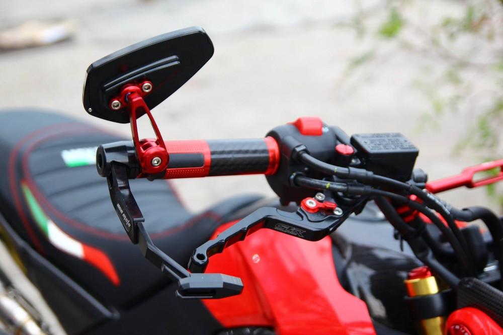 Honda msx độ lộng lẫy với dàn đồ chơi kiểng