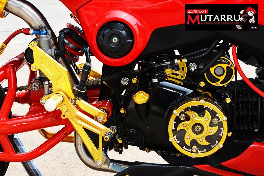 Honda msx độ nổi bật với phong cách ducati hypermotard
