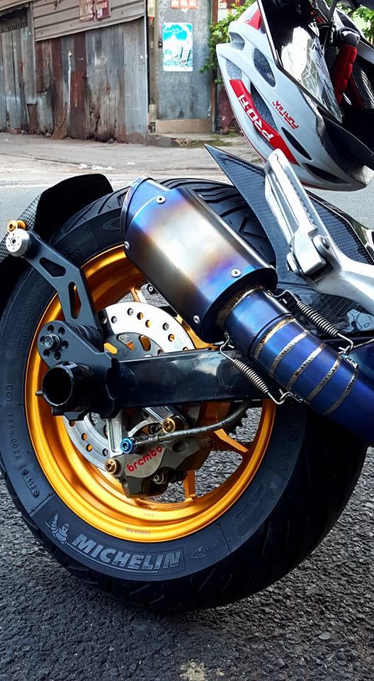 Honda msx siêu chất cùng phiên bản mạ crom sáng loáng
