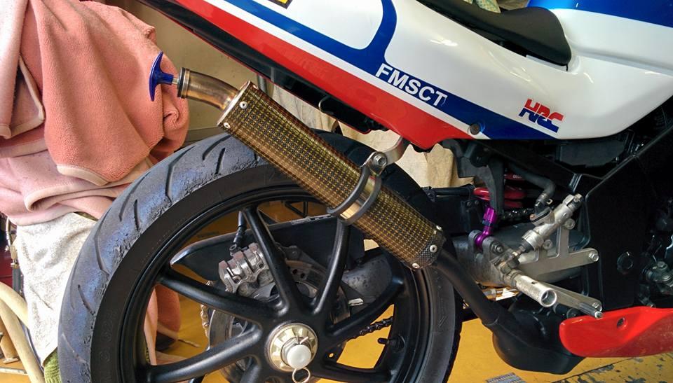 Honda nsr 150sp phiên bản độ từ biker người nhật