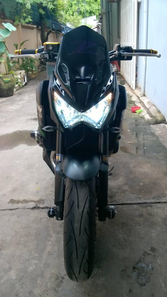 Kawasaki z800 2015 độ chất lừ của một biker việt