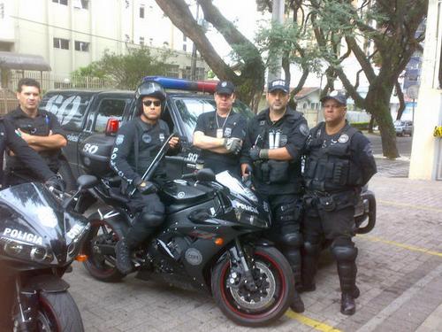 Những hình ảnh mô-tô khủng của cảnh sát toàn cầu