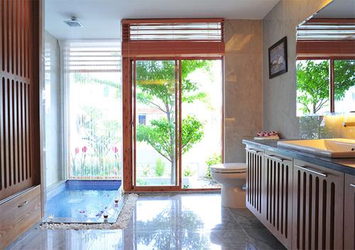 Các gia đình việt đầu tư nhà tắm như trong khu nghỉ dưỡng