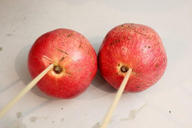 Cách cắm bình hoa từ bắp cải đậu đũa đơn giản mà độc đáo