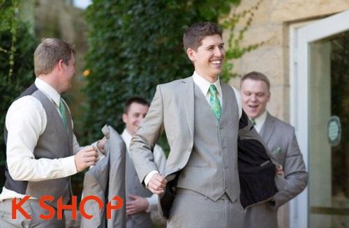 Kiểu tóc nam mạnh mẽ nhất dành cho chú rể ngày cưới