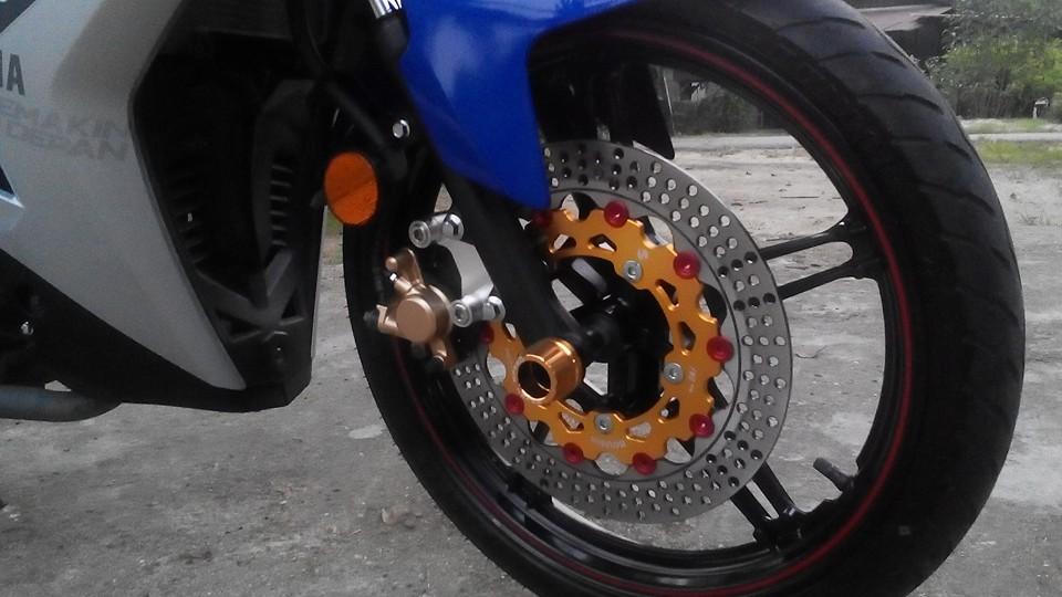 Yamaha y15zr lên đồ chơi lung linh đến từ biker nước bạn