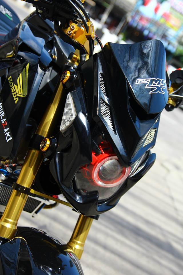 Honda msx độ bắt mắt với dàn đồ chơi nổi bật