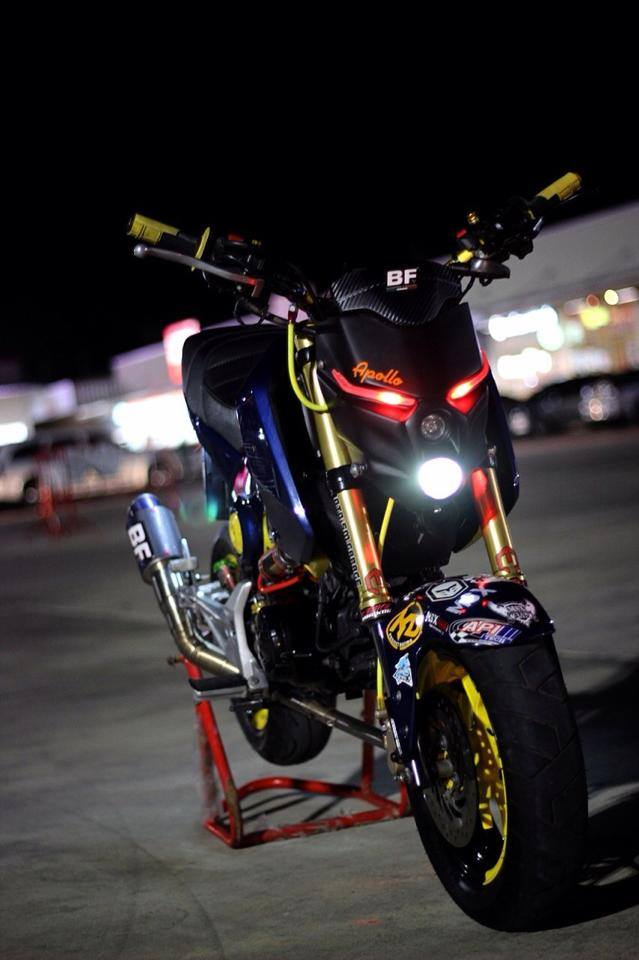 Bst msx125 độ phong cách motor pkl