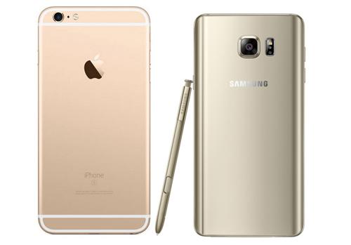 Galaxy note 5 được đánh giá cao hơn iphone 6s plus