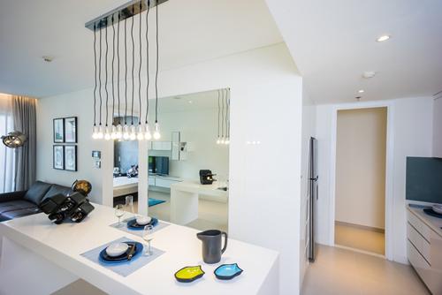 Hình ảnh tinh tế nội thất bên trong căn hộ cao cấp gateway thao dien