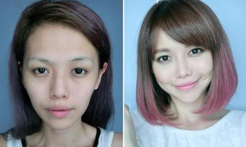 Hot girl singapore gây sốc với 9 lần dao kéo