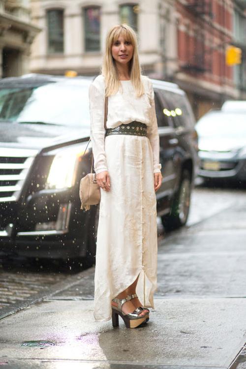 Tín đồ tuần lễ thời trang new york rộn rã đọ độ sành