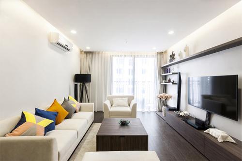 Các căn hộ 120 m2 khác biệt thể hiện cá tính chủ nhà