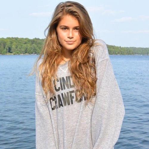 Con gái xinh đẹp mê hồn của siêu mẫu cindy crawford