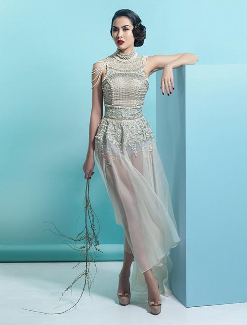 Ngắm hà tăng tái xuất ấn tượng trên bìa tạp chí thời trang