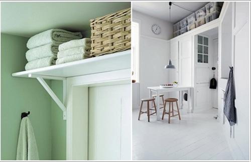 8 cách tiết kiệm diện tích cho căn hộ nhỏ