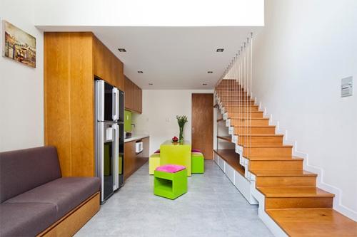 Ba ngôi nhà phố 30 m2 với phong cách khác biệt ở sài gòn