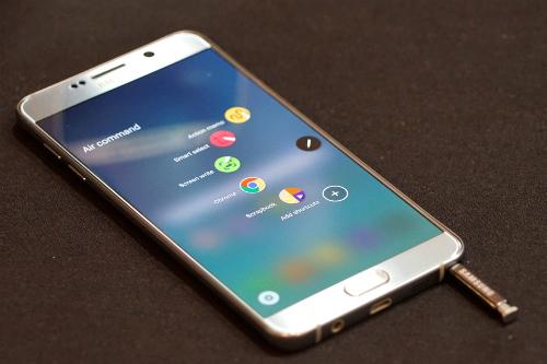 Galaxy note 5 trợ lý đắc lực cho người bận rộn