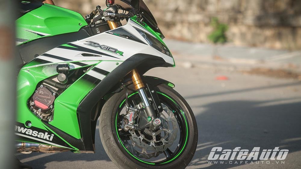 Kawasaki ninja zx-10r 2015 cỗ máy tốc độ thật thụ