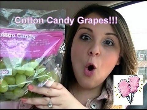 Phát sốt với nho hồng rực rỡ vị ngọt như kẹo bông