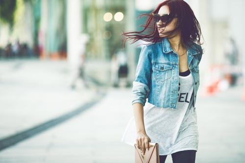 5 cách phối đồ dạo phố cá tính