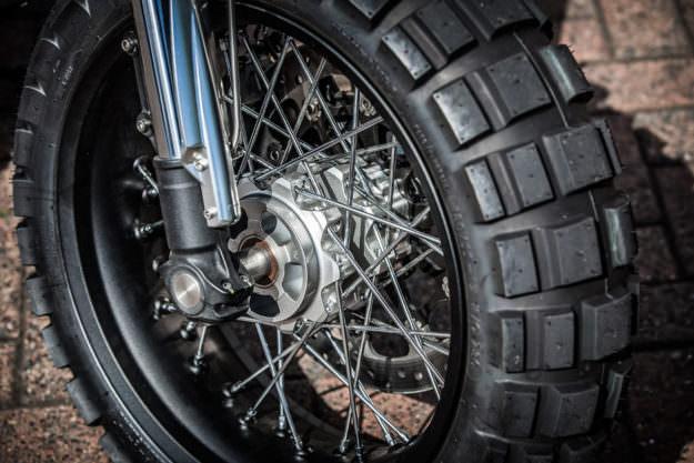 Ducati scrambler siêu ngầu trong bản độ bánh to cực chất