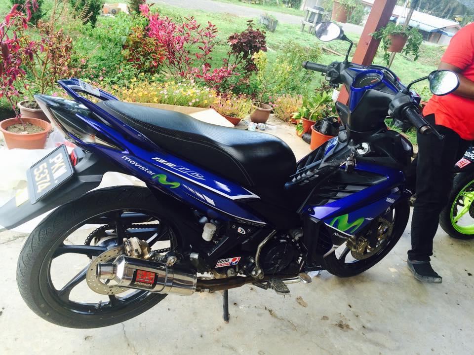 Exciter 135 phiên bản movistar của biker nước bạn