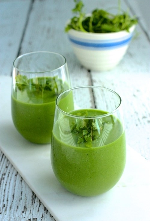 Uống ly sinh tố xanh này mỗi sáng để diệt mỡ và vô vàn lợi ích khác