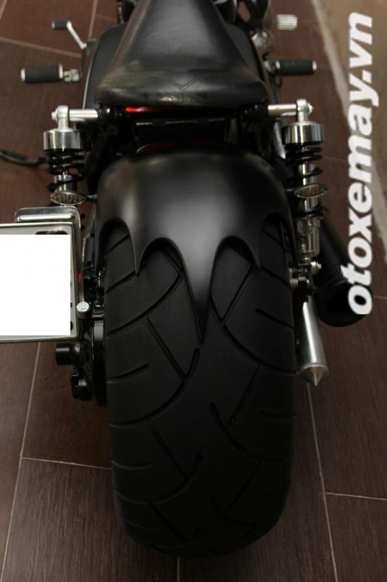 Honda shadow 750 độ siêu ngầu với phong cách chopper tại sài gòn