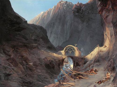 Ám ảnh cây cầu được xây nhờ dâng linh hồn người sống ở thụy sĩ