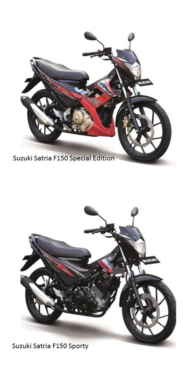 Cận cảnh suzuki satria f150 phiên bản 2015