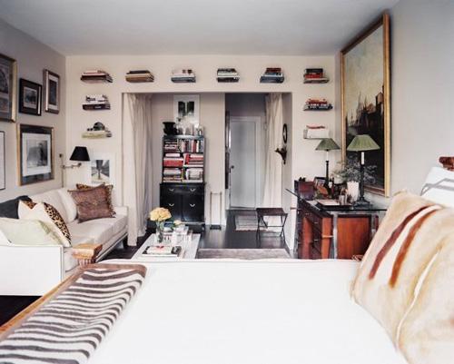 Căn hộ một phòng vẫn đẹp ngây ngất