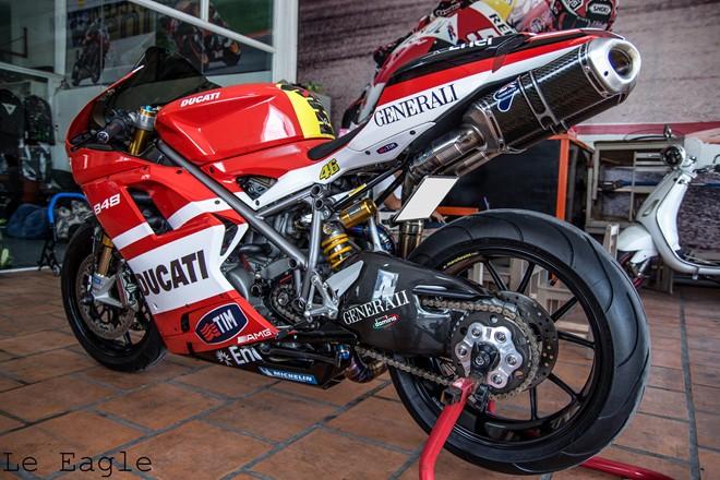 Ducati 848 evo độ đầy sang chảnh tại sài thành